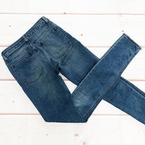 "Acne | ""Flex Sequel"" Mid Rise Skinny Jeans, 27x34"